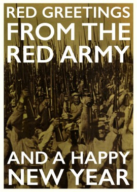 Red Army Christmas Card