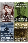 Four Revolutionary Christmas Cards for £6!