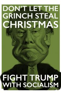 Fight Trump Christmas Card